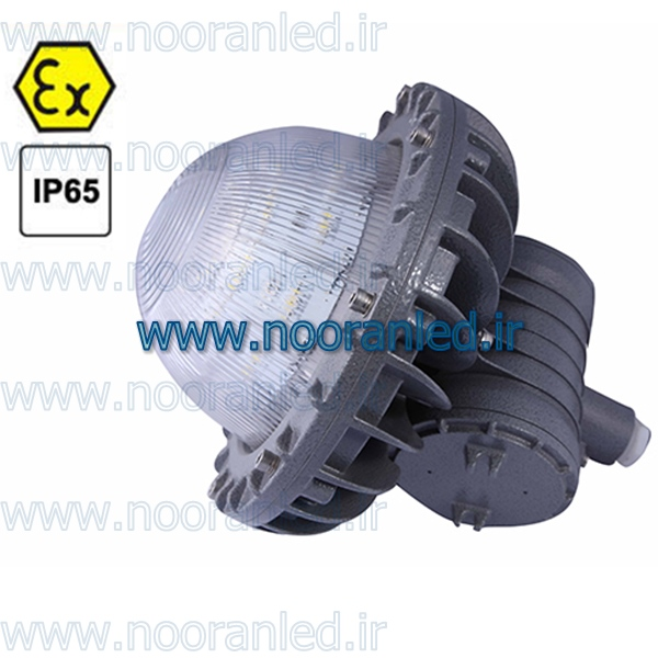 طراحی و ساخت چراغ ضد انفجار ال ای دی به گونه ای است که در زمان ایجاد جرقه و یا اتصال کنتاکت ها انفجار یا آتش سوزی رخ ندهد.