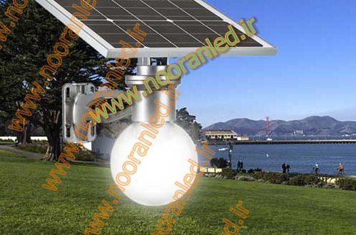 چراغ پارکی خورشیدی ال ای دی