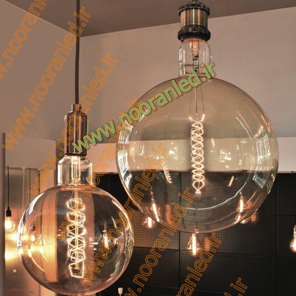 لامپ ال ای دی فیلامنتی دارای حباب بسیار شفاف بوده و در داخل آن رشته های رنگی ال ای دی به شکل بسیار زیبایی در نقش تنگستن؛ اشکالی با جلوه زیبا خلق کرده اند که بهترین انتخاب برای نورپردازی می باشد.