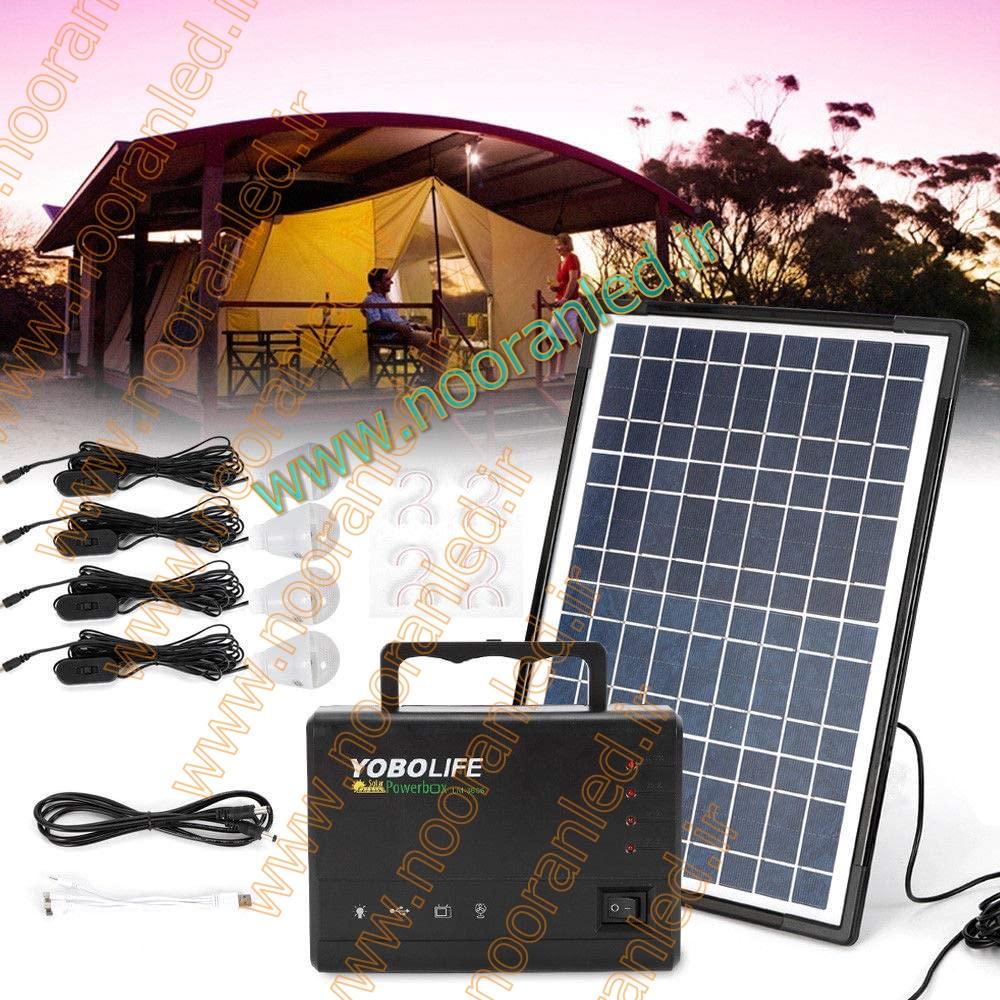 نوع لامپ استفاده شده برای لامپ متصل به پاور بانک باید از نوع ال ای دی باشد تا کمترین میزان انرژی را مصرف کرده تا شارژ باتری در بالاترین سطح بماند. در هنگام خرید پک خورشیدی پاور بانک چراغ قوه دار باید به نوع باتری و ظرفیت آن نیز توجه کرد تا پس از مدت کوتاهی استفاده، خالی نشود.